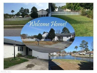 Hampton Single Family Home Under Contract: 170 Fairmont Dr