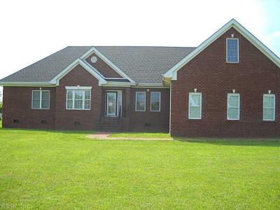 Suffolk Single Family Home For Sale: 1907 Jenkins Mill Rd
