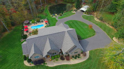 Franklin County Single Family Home For Sale: 253 Primitive Acres Ln