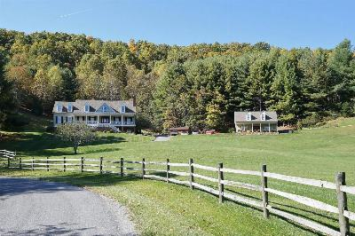 Botetourt County, Roanoke County Single Family Home Sold: 1701 Bottom Creek Ln