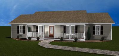 Single Family Home For Sale: Lot 10 Cedar Bluff Ln