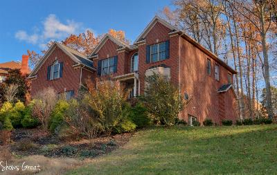 Roanoke County Single Family Home Sold: 6718 Fairway Ridge Rd