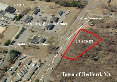 Bedford Residential Lots & Land For Sale: W Lynchburg Salem Tpke