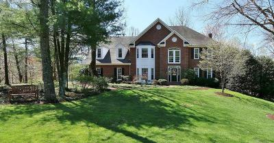 Roanoke County Single Family Home Sold: 1574 Strawberry Mountain Dr