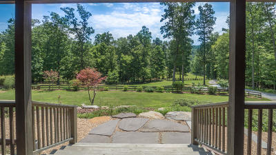Botetourt County Single Family Home Sold: 2545 Lees Gap Rd