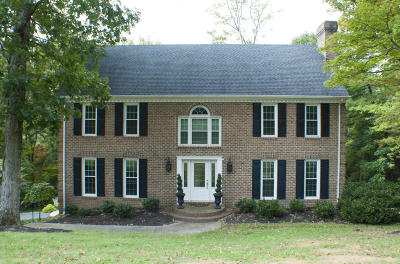 Roanoke County Single Family Home For Sale: 8042 Vista Forest Dr