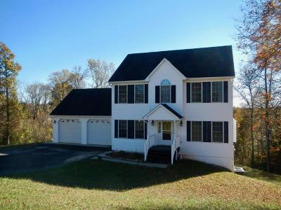 Bedford County Single Family Home For Sale: 1254 Rock Spring Rd