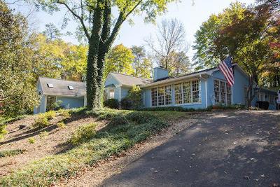 Roanoke County Single Family Home For Sale: 5346 Castle Rock Rd