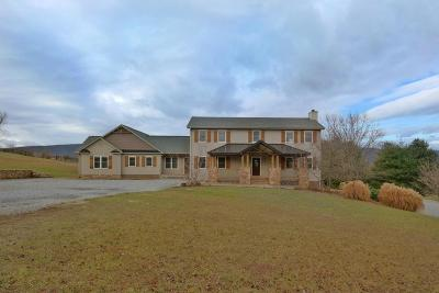 Botetourt County, Roanoke County Single Family Home Sold: 1007 Stevens Rd