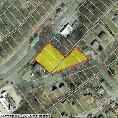 Roanoke City County Residential Lots & Land For Sale: Orange & Purcell Ave NE