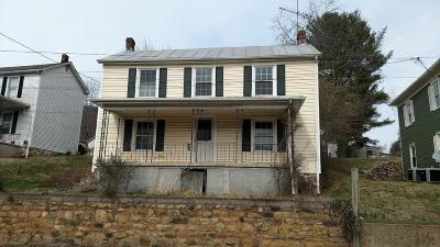 Botetourt County Single Family Home For Sale: 226 1st St