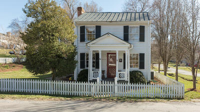 Botetourt County Single Family Home For Sale: 201 East Main St