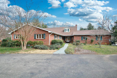 Botetourt County, Roanoke County Single Family Home For Sale: 5767 Scenic Hills Dr