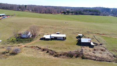 Goodview Farm For Sale: 4396 Horseshoe Bend Rd