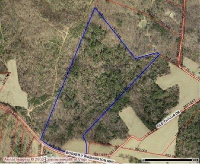 Franklin County Residential Lots & Land For Sale: Booker T Washington Hwy