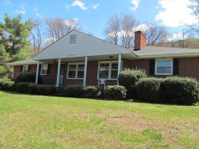 Roanoke Single Family Home For Sale: 5305 Old Mountain Rd NE