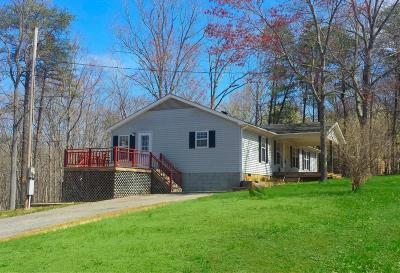 Bedford County, Franklin County, Pittsylvania County Single Family Home For Sale: 211 Lands End Trl