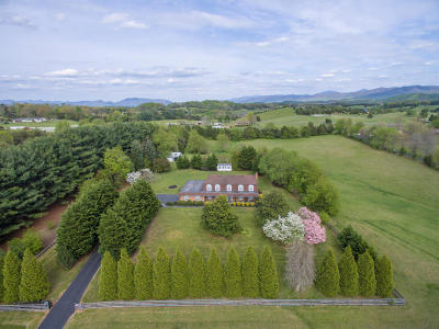 Botetourt County, Roanoke County Single Family Home Sold: 1416 Brughs Mill Rd