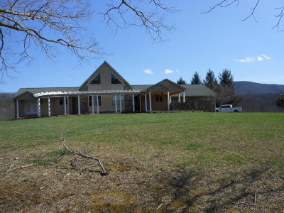 Botetourt County, Roanoke County Single Family Home Sold: 2839 Little Catawba Creek Rd