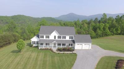 Botetourt County, Roanoke County Single Family Home Sold: 7306 Bohon Farm Rd