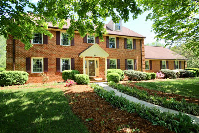 Roanoke County Single Family Home For Sale: 8115 Deer Branch Dr