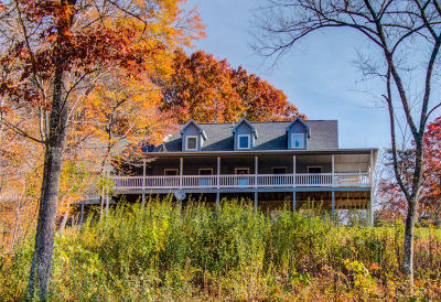 Franklin County Single Family Home For Sale: 1295 Webb Mountain Rd