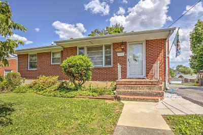 Roanoke Single Family Home For Sale: 1527 Guildhall Ave NW