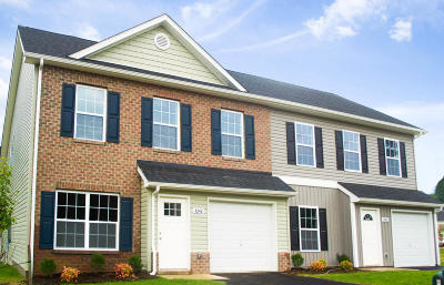 Roanoke County Attached For Sale: 4268 Hannah Belle Way