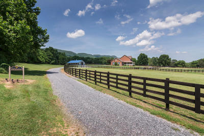 Botetourt County, Roanoke County Farm For Sale: 1051 Lonesome Pine Dr