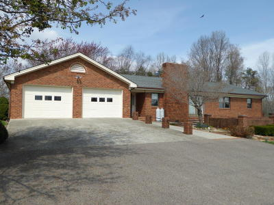 Franklin County Single Family Home For Sale: 10050 Virgil H Goode Hwy