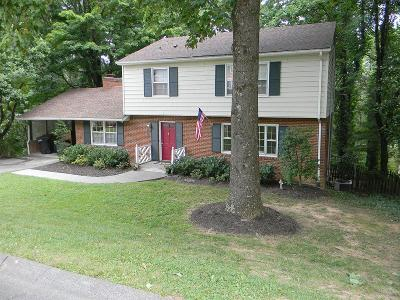 Roanoke VA Single Family Home For Sale: $194,600