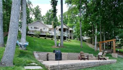 Bedford County, Franklin County, Pittsylvania County Single Family Home For Sale: 479 Island Pointe Ln