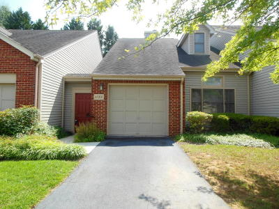 Roanoke County Attached For Sale: 4728 Barclay Square