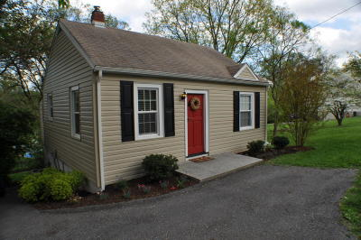 Roanoke County Single Family Home For Sale: 4529 Old Mountain Rd