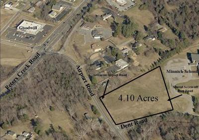 Roanoke County Residential Lots & Land For Sale: Airport Rd