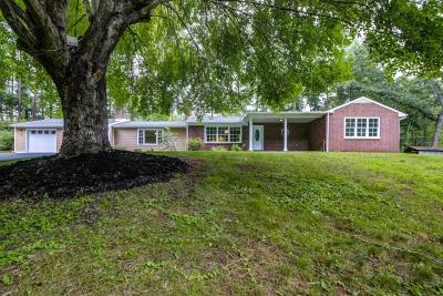 Rocky Mount VA Single Family Home For Sale: $239,950