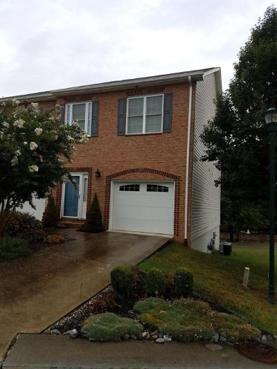 Roanoke County Attached For Sale: 801 Walhalla Ct