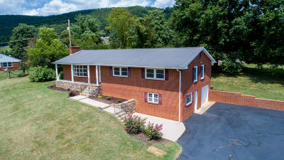 Roanoke Single Family Home For Sale: 6395 Roselawn Rd
