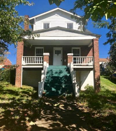 Roanoke Single Family Home For Sale: 3055 Melrose Ave NW