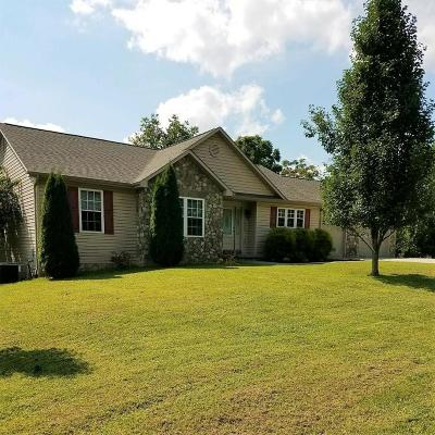 Single Family Home For Sale: 1859 Haymakertown Rd