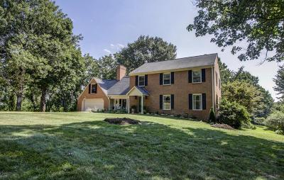 Botetourt County, Roanoke County Single Family Home Sold: 7620 Countrywood Dr