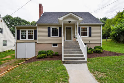 Roanoke Single Family Home For Sale: 2406 Montgomery Ave SW