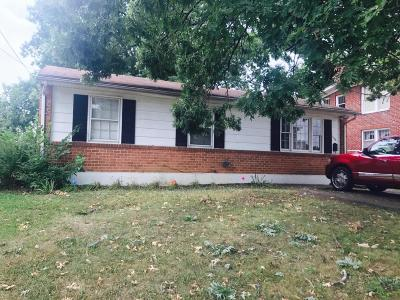 Roanoke Single Family Home For Sale: 1426 Staunton Ave NW