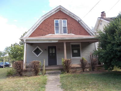 Roanoke VA Single Family Home For Sale: $25,000