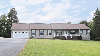 Bedford Single Family Home For Sale: 2170 Moneta Rd