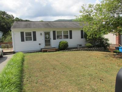Roanoke VA Single Family Home For Sale: $128,000