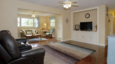 Roanoke County Single Family Home For Sale: 8631 Martins Creek Rd