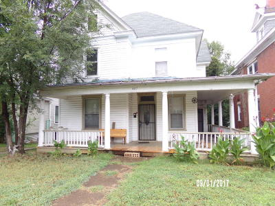 Single Family Home For Sale: 407 Elm Ave SW