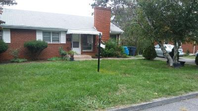 Roanoke Single Family Home For Sale: 2524 Broad St NW