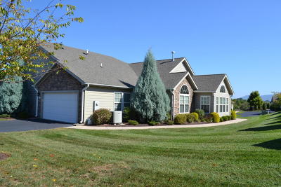 Roanoke County Attached For Sale: 5465 Orchard Villas Cir